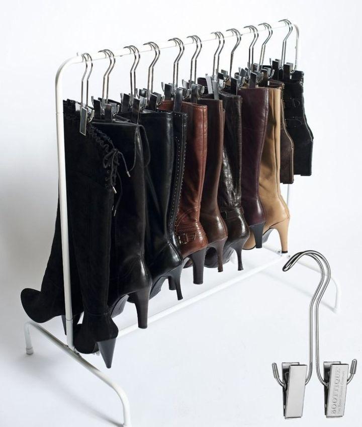 Como organizar seus sapatos para otimizarespaço