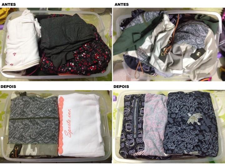 Organização de armário quarto - Blog Organizer by Valéria Angelotti