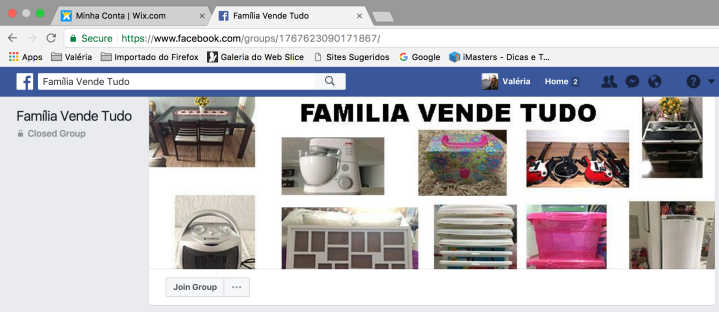 Blog Organizer Familia Vende Tudo