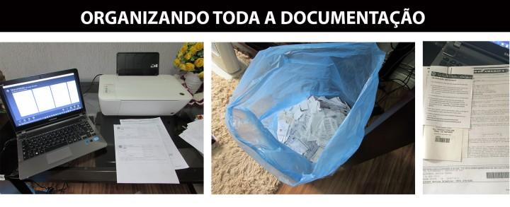 Blog Organizer Organizando Documentação