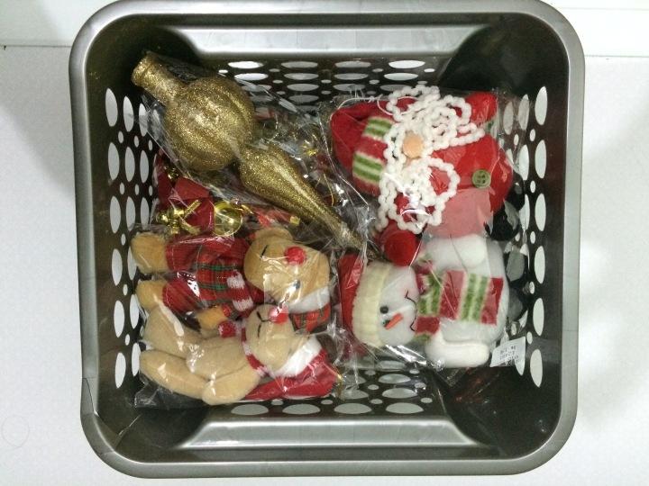 Organizando Enfeites Natal - Blog Organizer by Valéria Angelotti